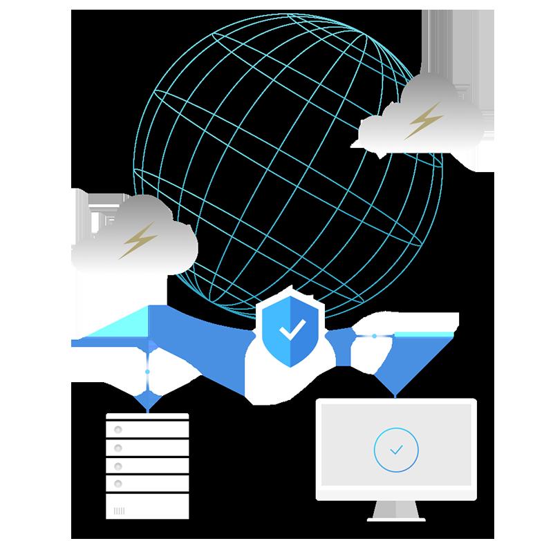 情報セキュリティの取り組みをご支援します。